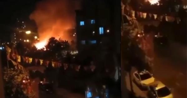 Ստամբուլը նույնպես այրվում է (տեսանյութ)