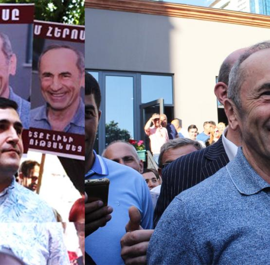 Քաղացին պատմում է, թե որքան գումարով է դատարանի դիմացը կանգնել և աջակցել Քոչարյանին