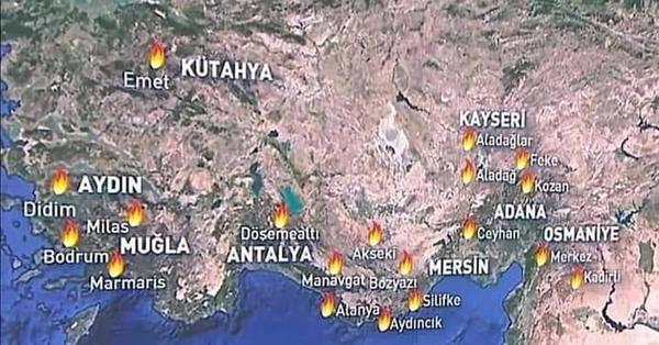 Հրդեհները Թուրքիայի տարածքում․ «Վերևն Աստված կա»