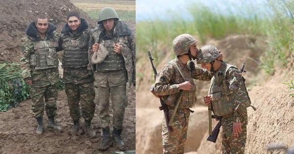 Քնելուց առաջ չմոռանաս աղոթես մեր զինվորների համար