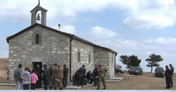 Ադրբեդջանիցները վերացրել են հայկական եկեղեցին (լուսանկար)