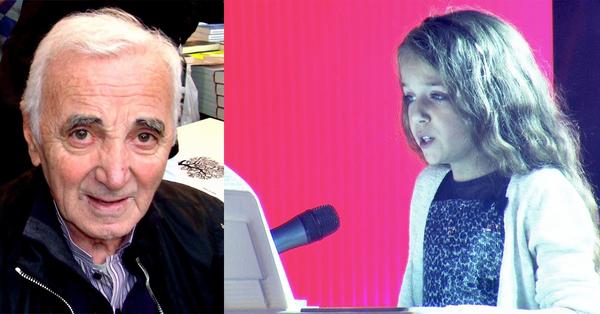 Տեսեք ինչպես է Շառլ Ազնավուրի թոռնուհի Էրզան կատարում պապիկի աշխարահռչակ «La Bohème» երգը (տեսանյութ)