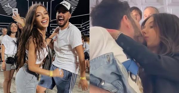 Սոնա Եսայանը և Գրիգը չեն կարողացել իրենց զսպել և համբուրվել են մետրոյում