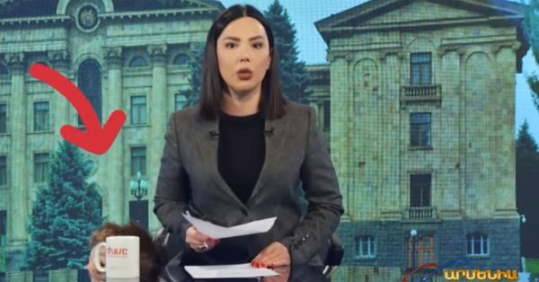 Արմենիայի լուրերի ժամանակ Հաղորդավարուրու մանկահասակ երեխան գաղտագողի «ներխուժել է» եթեր և հայտնվել մայրիկի կողքին ՝ տեսախցիկների առջև (Տեսանյութ)