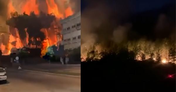 Թուրքիայի Անթալիա քաղաքում սարսափելի հրդեհներ է․ Գյուղերից տարահանվում են բնակիչները (Տեսանյութ)
