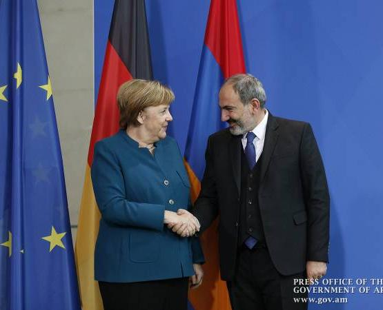 В рамках визита в Германию Никол Пашинян проведет встречу с Ангелой Меркель