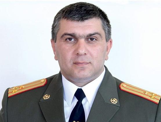 Commander of 3rd Army Corps Grigori Khachaturov bestowed with Major-General military rank