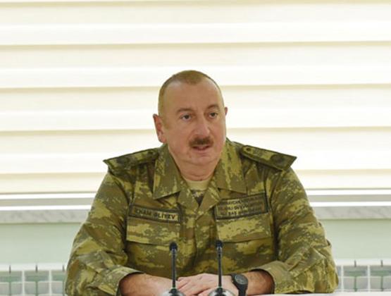 Война за Карабах не закончена – Алиев