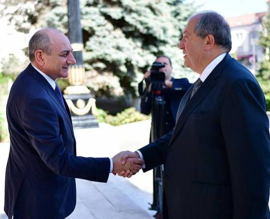 Armenian President congratulates Artsakh counterpart on birthday