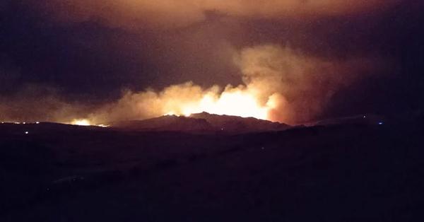 Տավուշի մարզում խոշոր հրդեհ է, կրակը հասել է ադրբեդջանական դիրքեր (տեսանյութ)