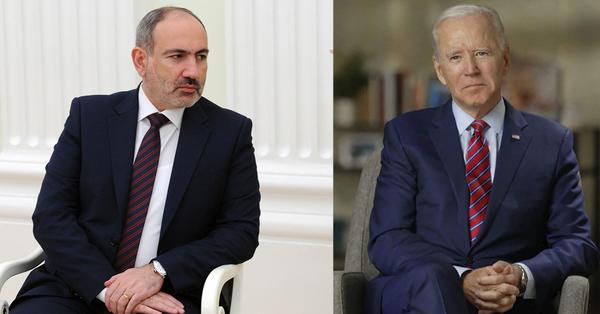 Ջո Բայդենը շնորհավորական ուղերձ է հղել Հայաստանին և Նիկոլ Փաշինյանին