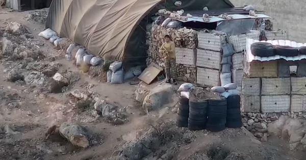 Տեսանյութ, թե ինչպես է ադրբեդջանցի զինվորը կրակում մեր տղաների ուղղությամբ
