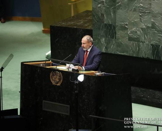 Создать условия для прогресса в мирном процессе: Пашинян с трибуны ООН обратился к Алиеву