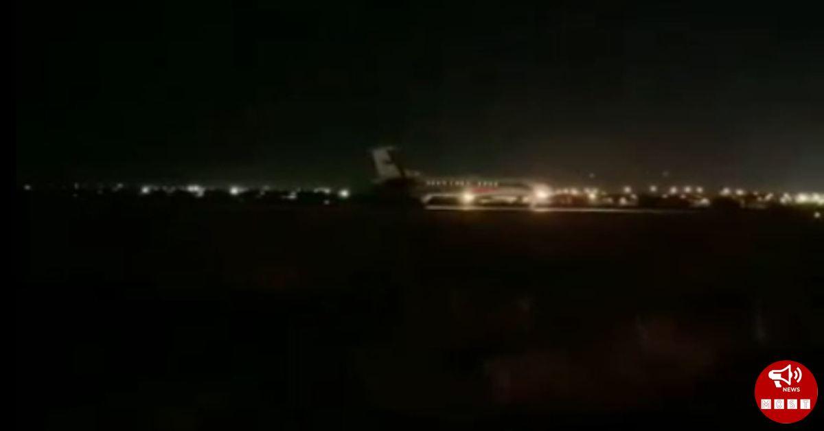 Տեսանյութ, թե ինչպես է հայ գերիների օդանավը վայրեջք կատարում