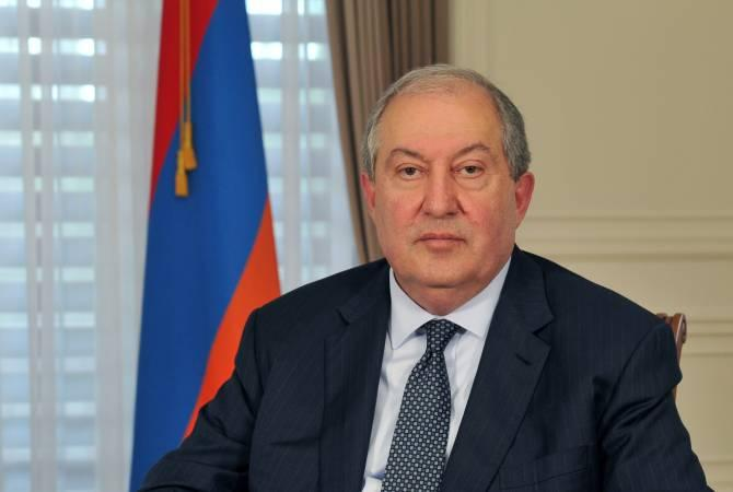 Армен Саркисян никогда не делал инвестиций в Азербайджане или Турции: аппарат президента