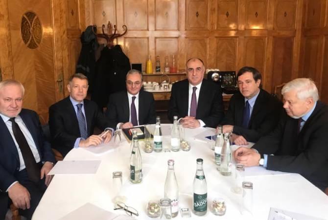 В Женеве началась встреча Мнацаканян-Мамедъяров